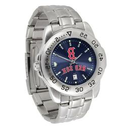 MLB Boston Red Sox Men's Sport Steel Watch