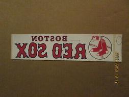 MLB Boston Red Sox Vintage Circa 1970's Team Logo Baseball B