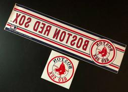 MLB Boston Red Sox Vintage Wincraft Logo Baseball Bumper Sti