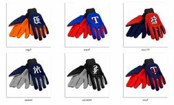 MLB Colored Palm Utility Gloves by Forever Collectibles -Sel