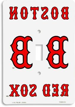 MLB licensed Boston Red Sox baseball single metal light swit