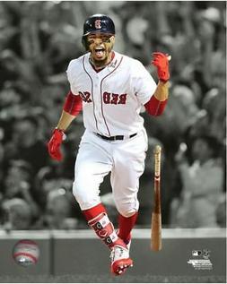 Mookie Betts Batting 2018 Boston Red Sox Authentic Original