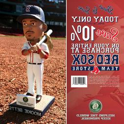 Mookie Betts Boston Red Sox Gold Glove Silver Slugger Bobble