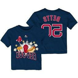 Mookie Betts Boston Red Sox Majestic Toddler Snack Attack Na