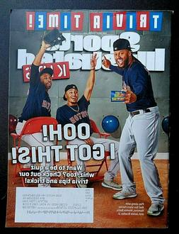MOOKIE BETTS JACKIE BRADLEY JR SPORTS ILLUSTRATED FOR KIDS M