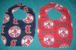 New BABY CHILD BIB BOSTON RED SOX MLB BASEBALL TEAM / SHIPPI