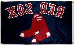 NEW Boston Red Sox MLB Baseball Large 3x5 Flag Banner FREE S