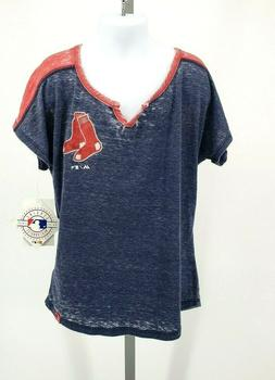 New Boston Red Sox Official MLB Majestic T-Shirt Kids Youth