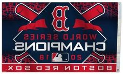NEW Boston Red Sox World Champions MLB 3x5 Official Polyeste