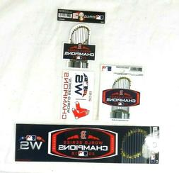 New Lot Boston Red Sox 2018 World Series Champion Bumper Sti