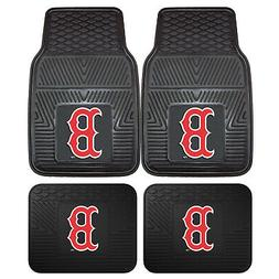 New MLB Boston Red Sox Car Truck Front Rear Rubber Heavy dut