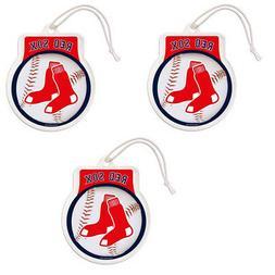 New MLB Boston Red Sox Classic Logo Hanging Gel Air Freshene