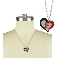 New MLB Boston Red Sox Fashion Jewelry Swirl Heart Charm Pen