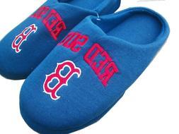 New NWT Mens MLB Boston Red Sox Blue Slipper Shoes Size 13 1