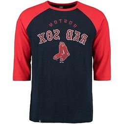 NWT MAJESTIC BOSTON RED SOX DON'T JUDGE 3/4 SLEEVE T TEE SHI