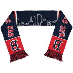 NWT Boston Red Sox Skyline Scarf MLB Forever collectibles Wo