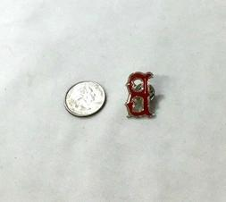 "Official MLB Fenway Park Boston Red Sox Classic ""B"" Logo Pin"