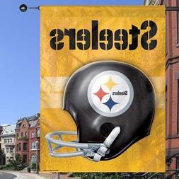 "Pittsburgh Steelers 27"" x 37"" Throwback Helmet Vertical Bann"