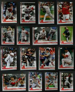 Pre-Sell 2019 Topps Series 2 Boston Red Sox Baseball Cards B