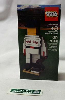 Rare Official Boston Red Sox Lego Baseball Figure 40 pieces