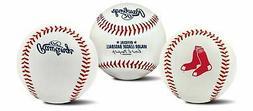 Rawlings Boston Red Sox Team Logo Manfred MLB Baseball Autog