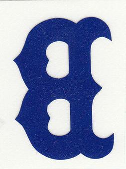REFLECTIVE Boston Red Sox fire helmet decal sticker RTIC win