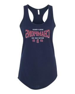 Boston Red Sox 2018 World Series Champs Women's Racerback Ta
