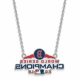 SS Boston Red Sox World Series 2018 Large Enamel Pendant wit