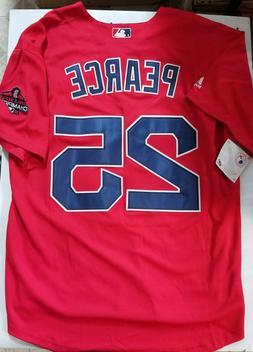 Steve Pearce Jersey Boston Red Sox World Series Champions Me