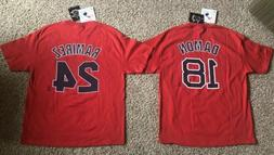 Vintage Boston Red Sox Manny Ramirez Johnny Damon T-Shirt Je