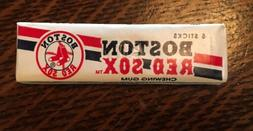 Vintage MLB Boston Red Sox Chewing Gum Unopened 5 stick pack